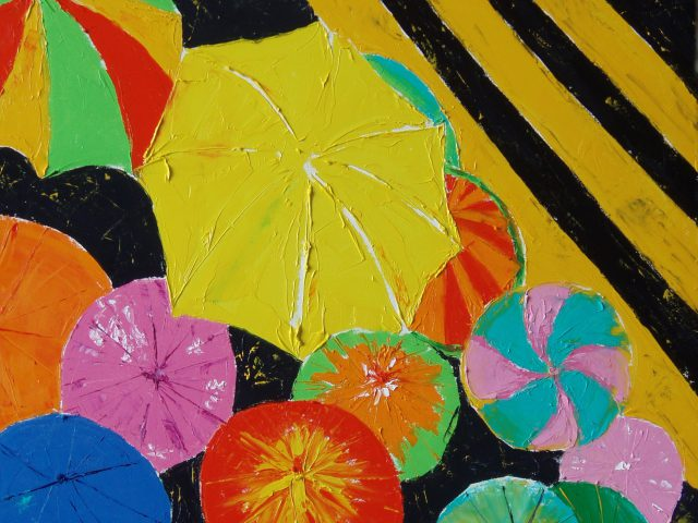 Umbrellas in Aguas