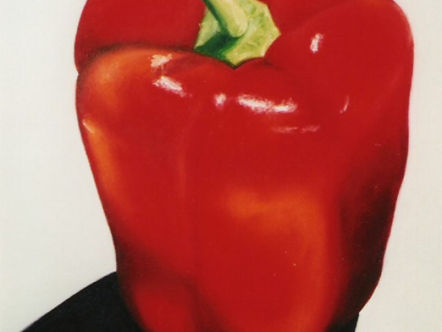 Gargantuan Red Bell Pepper